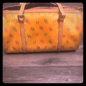 Dooney and Bourke Orange Purse!